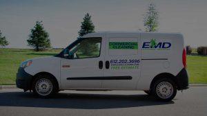 EMD Cleaning services Van